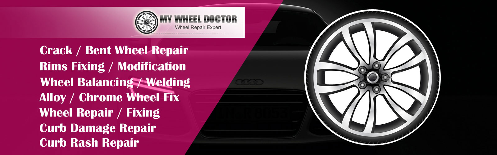 Houston Auto Repair Crack Bent Wheel Rim Repair Wheel Balancing